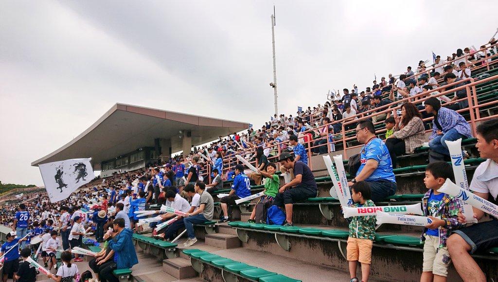 奈良クラブスタジアム応援